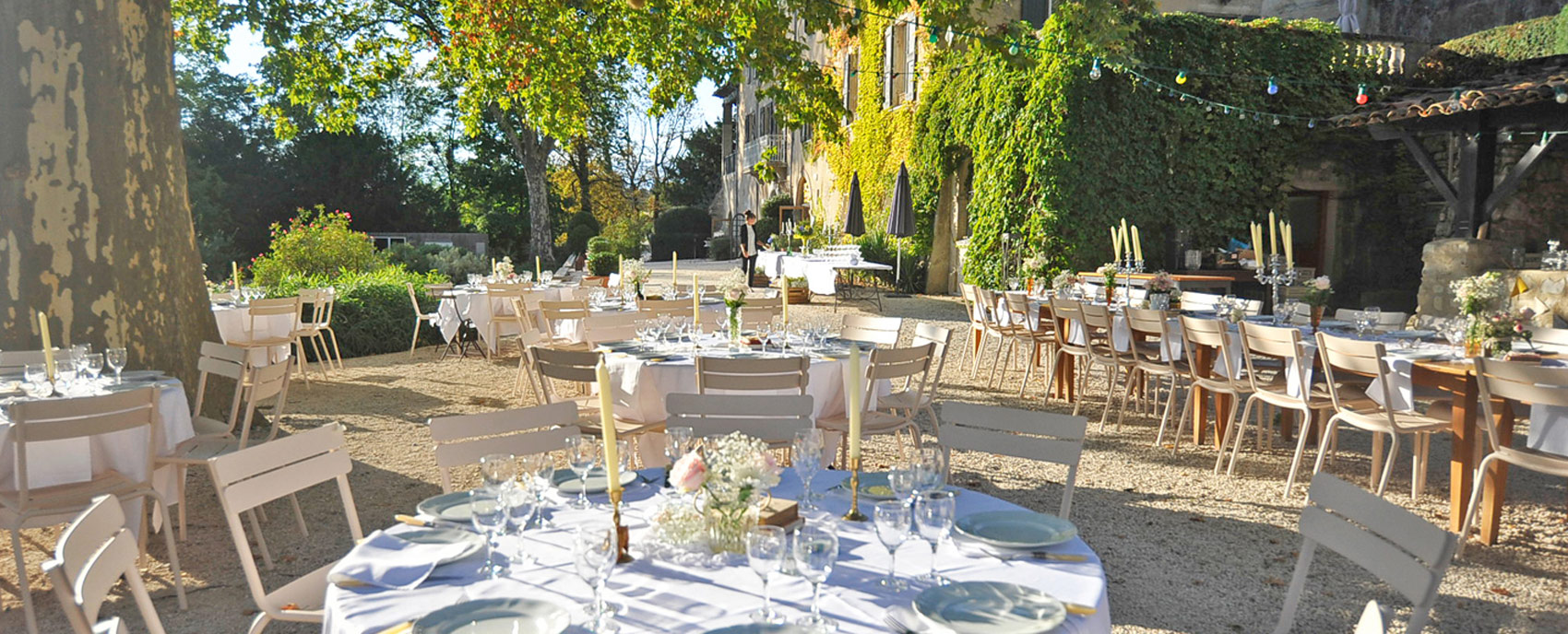 weddings domaine de Blacons